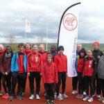 Athleten und Helfer beim 9. HLC Werfermeeting