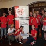 Stellt sich den Herausforderungen: der Jugendvorstand des HLC