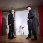 Die beiden Schauspieler des Café u. Zimmertheaters sorgten für kurzweilige Unterhaltung!