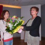 Petra gratuliert Kordula